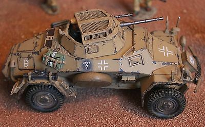 King And Country Ww11 Gemans Afrika Korps Ak92 Sd Ktz 222 Toy Soldiers Britains
