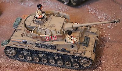 King And Country Ww11 Gemans Afrika Korps Ak23 Panzer 1V Toy Soldiers Britains