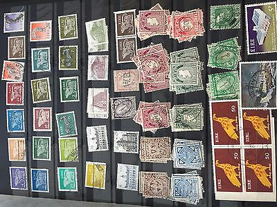 Ireland super hoard with duplicates incl much early, overprints, perfin etc