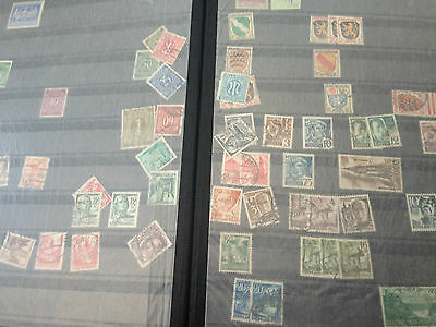 Germany Bundespost massive stock of mostly used stamps in thick stockbook