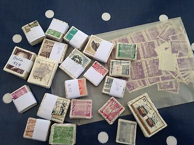 Germany bundespost Berlin early and valuable bundleware hoard approx 1700 stamps
