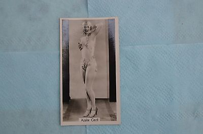 Beauties of Today Cigarette Card by G Phillips- No 2 Azalie Cecil