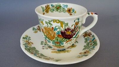 Mason's Ironstone STRATHMORE Cup and Saucer