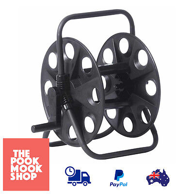 Hose Black Reel Garden Capacity 45M Rust, Corrosion Resistant, Snap-On Connector