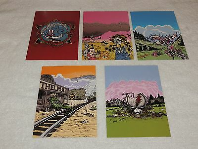Grateful Dead Tony Millionaire 2014 Small Litho Prints from Dave's Picks - NEW!