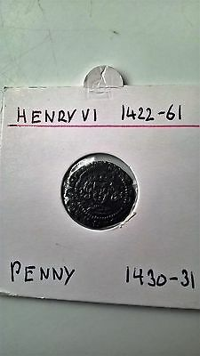 S1867 Penny Henry Vi Coin