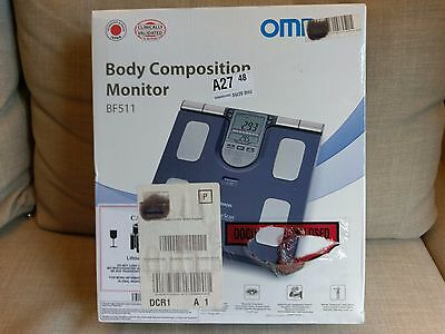 Omron BF511 Family Body Composition Monitor - Used (low usage)