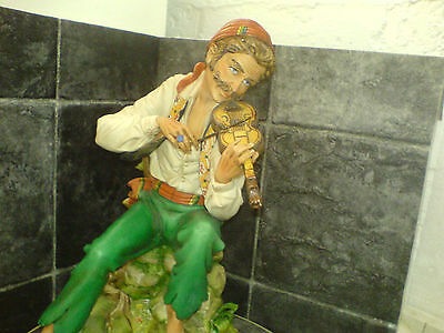 'gypsy Serenade' - Large Porcelain Capodimonte Figure - See Scans