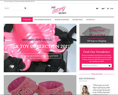 Full Home Business Dropshipping Sex Products Online Store Make Money Start Today