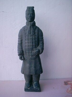Old Terracotta Clay Soldier Warriors Chinese Qin Xi'an