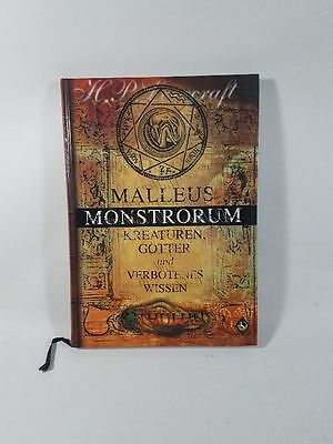 Cthulhu Malleus Monstrorum Quellenbuch Rollenspiel RPG Pegasus Press HC rare