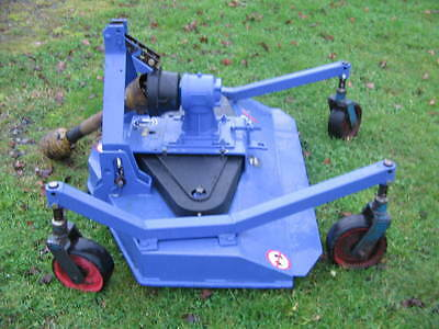 WESSEX PTO 4ft PASTURE TOPPER / FINISHING MOWER - ideal for compact tractor