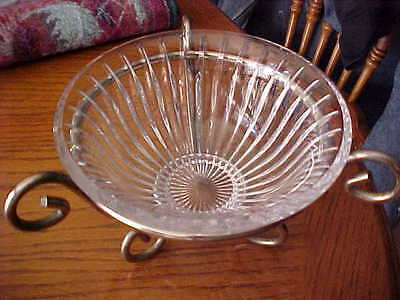 Mikasa Crystal Candy Dish with Stand