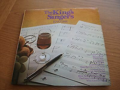 The King Singers Encore / Vinyl Lp Record Ex Ex