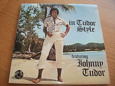 Johnny Tudor - In Tudor Style / Vinyl Lp Record Ex Vg+