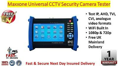 Maxxone Universal CCTV Security Camera IPC Tester / Meter With Quick Delivery