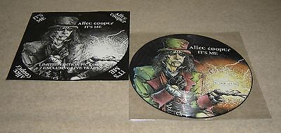 "Alice Cooper It's Me 12"" Single Picture Disc Ltd Ed No. 1408 Of 5000 - VVG"
