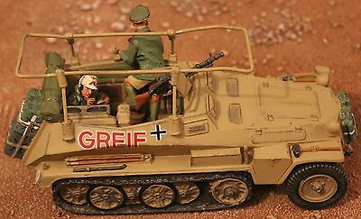 King And Country Ww11 Gemans Afrika Korps Ak29 Half Track Toy Soldiers Britains