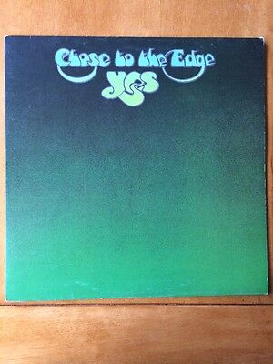 Yes - Close To The Edge - Vinyl LP EX/EX Atlantic- Gatefold Sleeve with inner