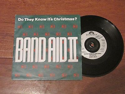 "Band Aid II ' Do they know its Christmas?'  7"" vinyl single"