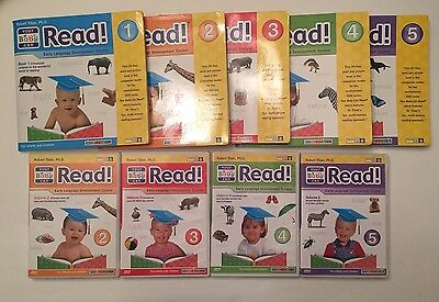 Your Baby Can Read Nice Set Books 1-5 DVD set 2-5