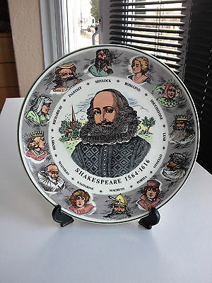 "Royal Doulton 10.5"" Shakespeare Decorative Plate"
