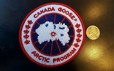 """Canada Goose Arctic program  PATCH  embroidered iron on Sew on  Patch 3.5x 3.5"""""""