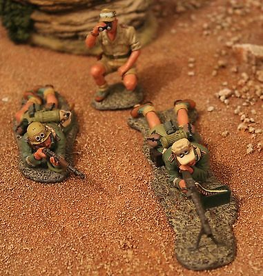 King And Country Ww11 Gemans Afrika Korps Ak55 Toy Soldiers Britains