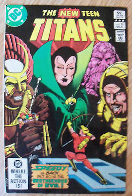 The New Teen Titans #29 (1983) Adrian Chase Frances Kane VF- Combined Postage
