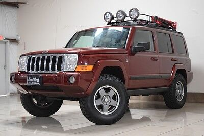 2007 Jeep Commander Sport Sport Utility 4-Door JEEP COMMANDER LIFTED 4X4 V8 ENGINE TRAIL RATED SUNROOF ROOF RACK TOW 3RD ROW
