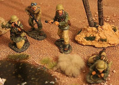 King And Country Ww11 Gemans Afrika Korps Ak16 Toy Soldiers Britains