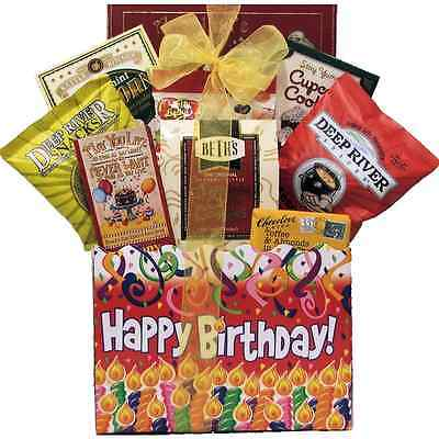 GreatArrivals Gift Baskets Happy Birthday: Gourmet Gift Basket, 1.81 Kg