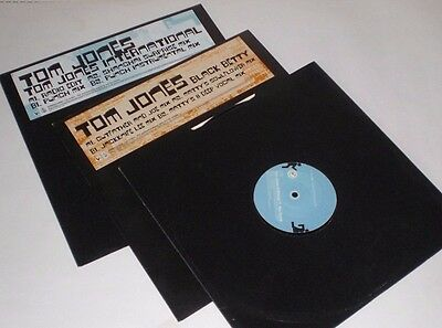 "Collection of 3 Tom Jones12"" remix singles"