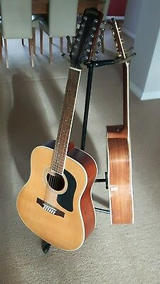 Freestanding Guitar stand - adjustablte height, triple, acoustic or electric