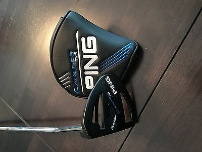 Ping Cadence TR Rustler Slight Arc Putter with Headcover