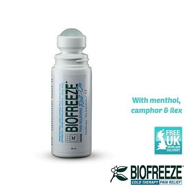 Biofreeze Roll On 3oz/89ml Back Pain Arthritis Sore Muscles Relief Expiry 08/195
