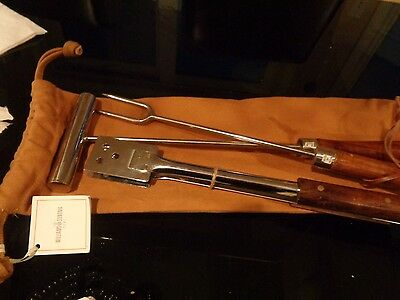 Williams Sonoma Loire Valley Countyside Barbeque set 2 pieces OR $225  New