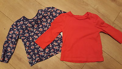 2x girls Mothercare tops