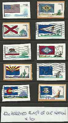 3467:..  VARIED  COLLECTION of USED   UNITED  STATES.X 10::::::::::::