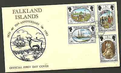 3512:. FALKLAND ISLANDS..FDC fine used COMMONWEALTH...collection..........