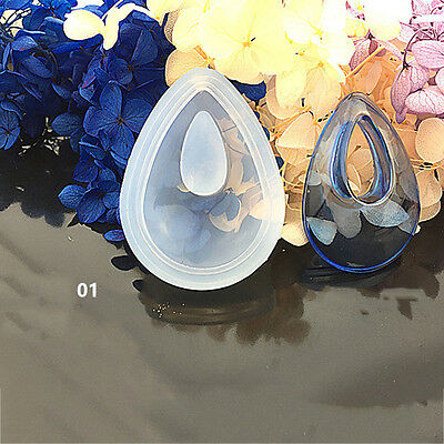 Silicone Jewellery Making Resin Casting Mould Pendant Mold Craft Supplies