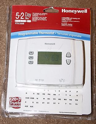 Honeywell Rth2300B 5-2 Programmable Thermostat
