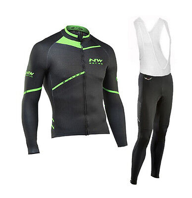 Completo Ciclismo/Cycling Jersey and Pants Combo Winter 2016/17 Northwave