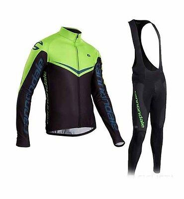 Completo Ciclismo/Cycling Jersey and Pants Combo Winter 2016/17 Cannondale