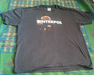 Interpol Band Shirt XL Super Soft Worn Indy Rock