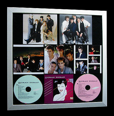 DURAN DURAN+Rio+LIMITED+GALLERY QUALITY FRAMED+EXPRESS GLOBAL SHIP+Not Signed