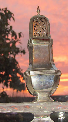 Antique Silver Plated Sugar Sifter Victorian English