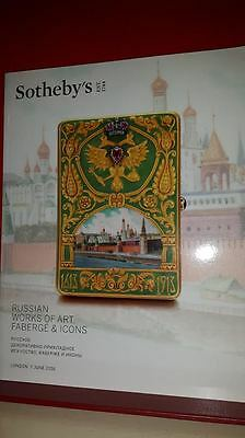 Sotheby's Catalogue:Russian Art Faberge and Icons Imperial Ruckert. Egg pendants