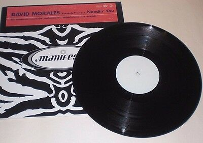 "Set of 2 David Morales 12"" remix singles"