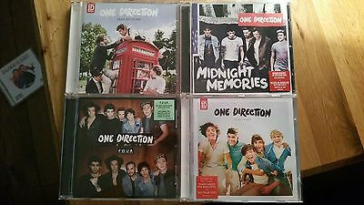 4 One Direction CD's